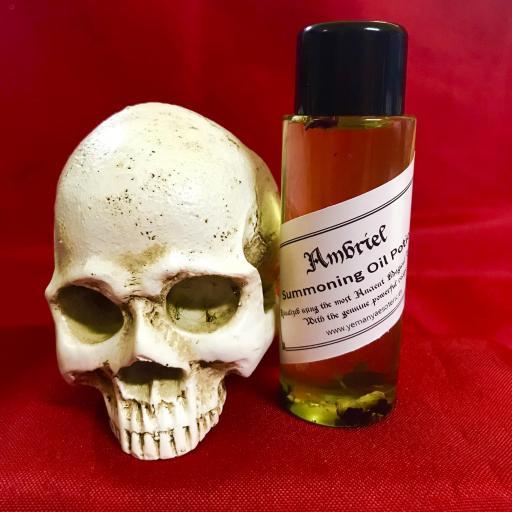 AMBRIEL - Demon Summoning Oil Potion - Aceite Poción de Invocación Demonio 60 ml