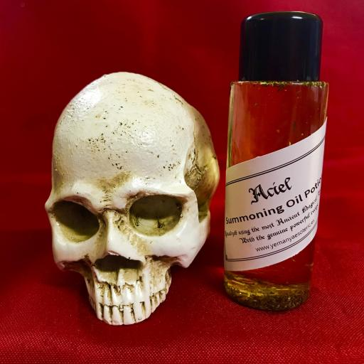 ACIEL - Demon Summoning Oil Potion - Aceite Poción de Invocación Demonio 60 ml