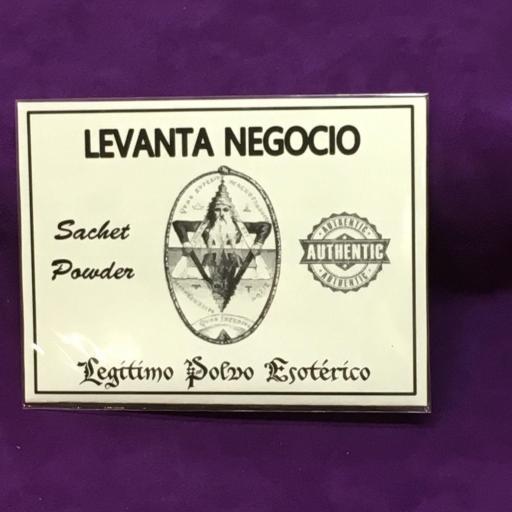 ☆ LEVANTA NEGOCIO ☆ LEGITIMO POLVO ESOTERICO 20 GRAMOS