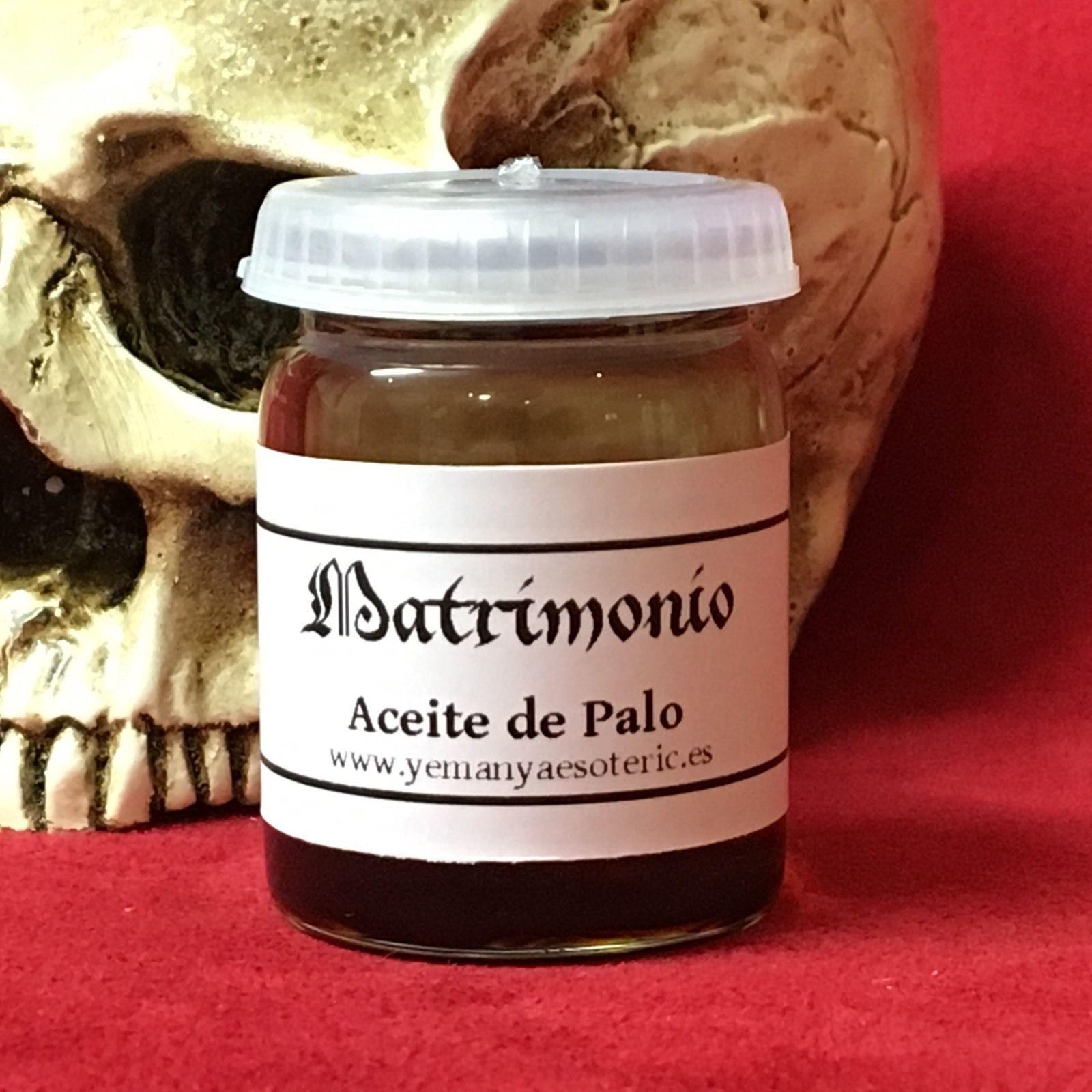 ☆ ACEITE ESOTERICO DE PALO MATRIMONIO ☆ RITUAL OIL ☆ 15ml.