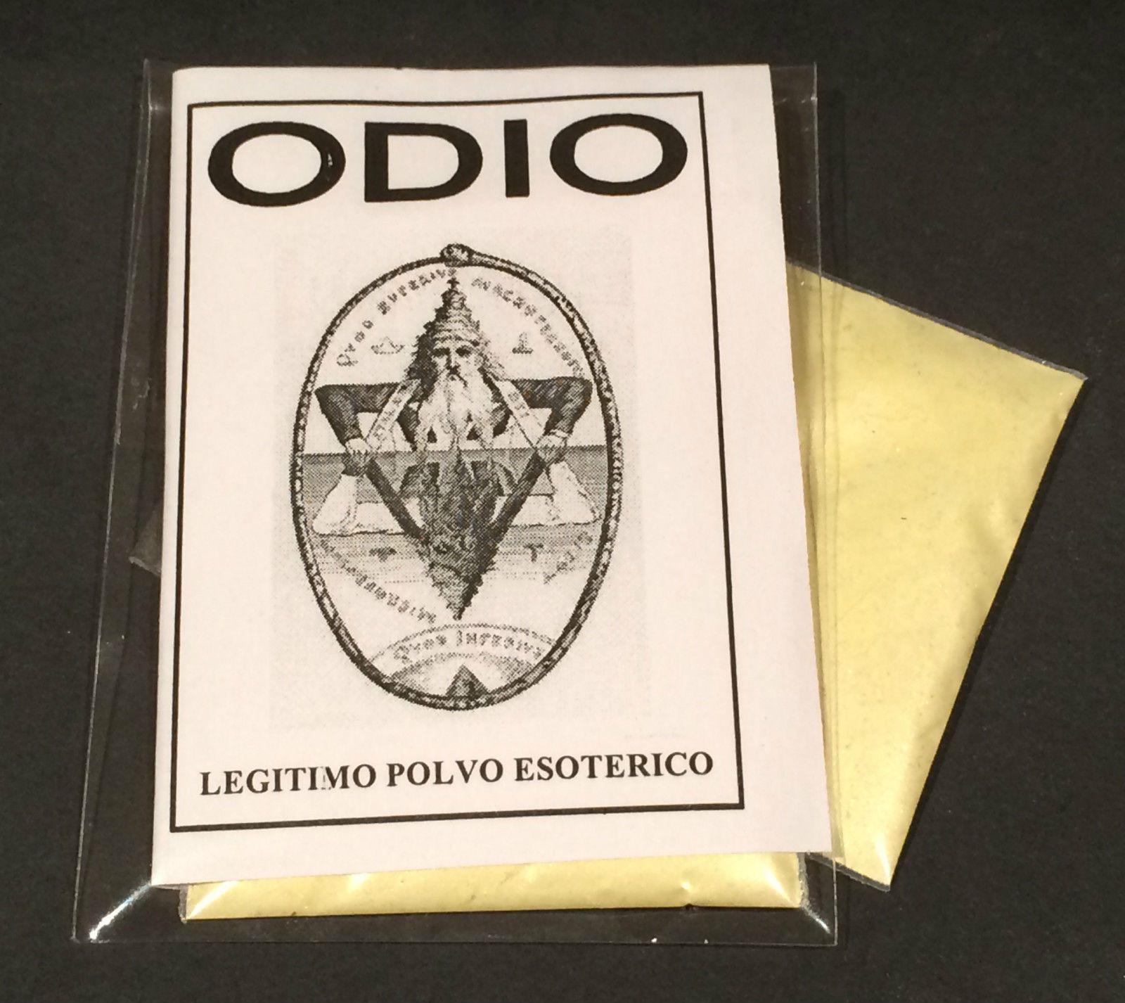 "LEGITIMO POLVO ESOTERICO ESPECIAL "" ODIO """