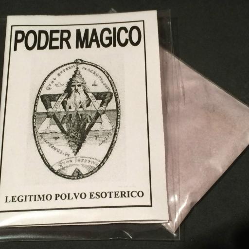 """LEGITIMO POLVO ESOTERICO ESPECIAL """" PODER MAGICO """""""