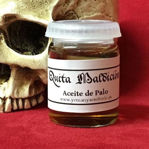 ☆ ACEITE ESOTERICO DE PALO QUITA MALDICIÓN ☆ RITUAL OIL ☆ 15ml.