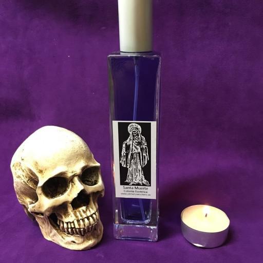 ☆ SANTA MUERTE ☆ COLONIA ESOTERICA ☆☆ 100 ml. Wicca Spell Magick Perfume Ritual