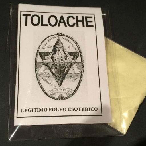 """LEGITIMO POLVO ESOTERICO ESPECIAL """" TOLOACHE """""""