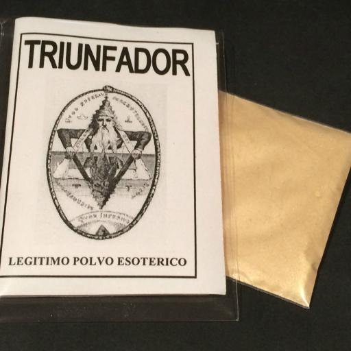 "LEGITIMO POLVO ESOTERICO ESPECIAL "" TRIUNFADOR """