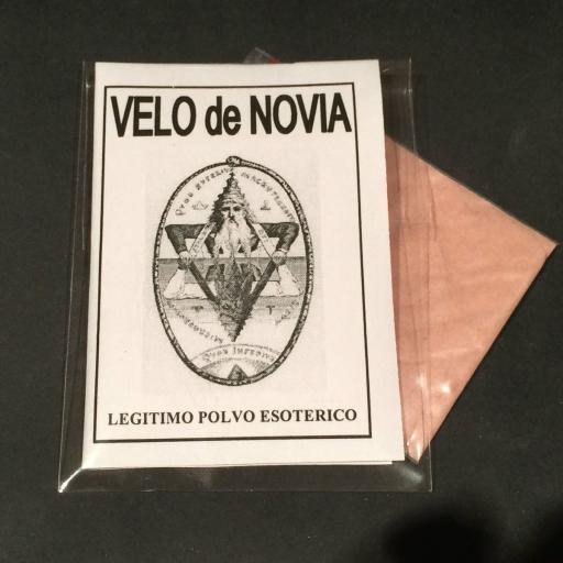 "LEGITIMO POLVO ESOTERICO ESPECIAL "" VELO DE NOVIA"""