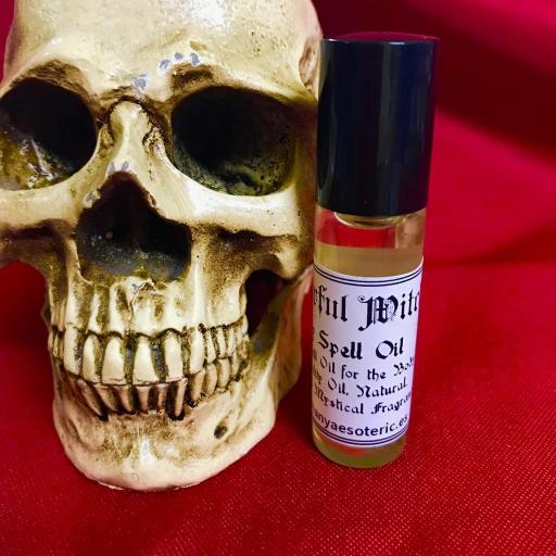 PODEROSA BRUJA - POWERFUL WITCH - ACEITE PARA EL CUERPO 6ml