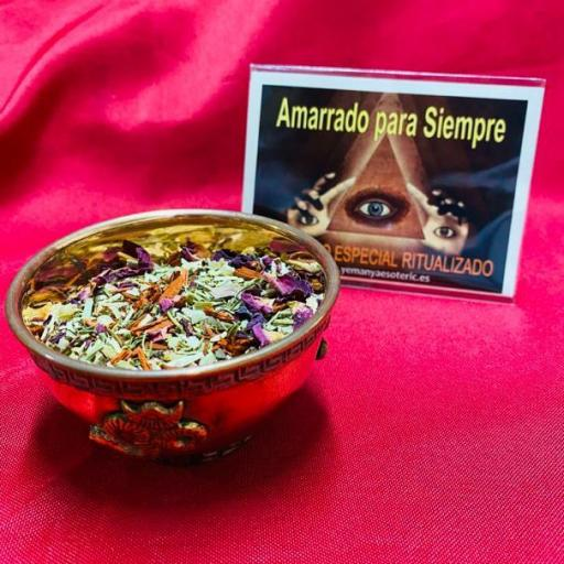 SAHUMERIO ESPECIAL RITUALIZADO AMARRADO PARA SIEMPRE