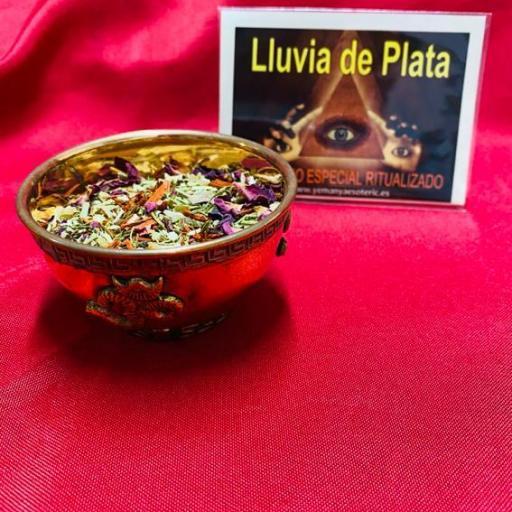 SAHUMERIO ESPECIAL RITUALIZADO LLUVIA DE PLATA
