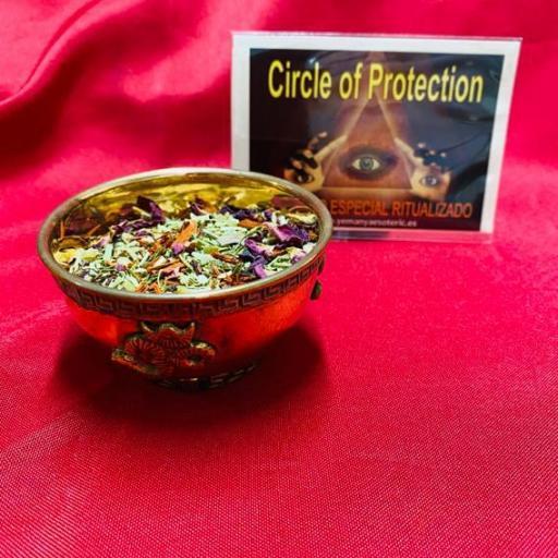 SAHUMERIO ESPECIAL RITUALIZADO CIRCLE OF PROTECTION - CIRCULO DE PROTECCION