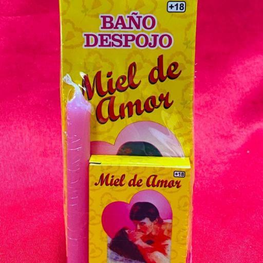 """BAÑO ESPECIAL DESPOJO """" MIEL DE AMOR """" 250 ml"""