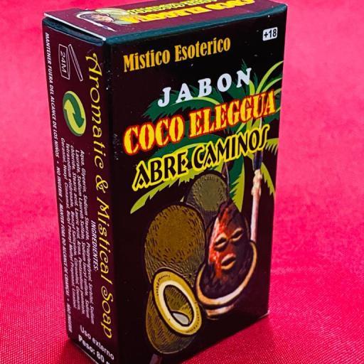 Jabon Esoterico Coco Eleggua Abre Caminos 100 gr.