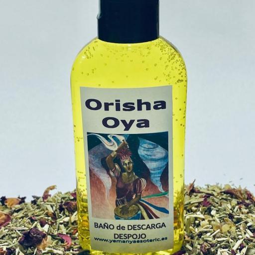 """BAÑO de DESCARGA DESPOJO """" ORISHA OYA """" 100 ml"""