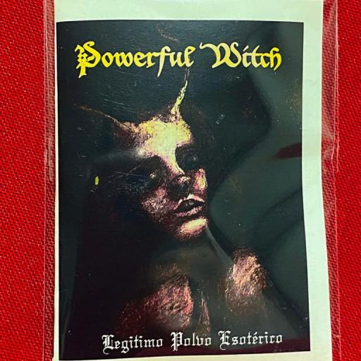 "POLVO ESOTERICO ESPECIAL "" POWERFUL WITCH """