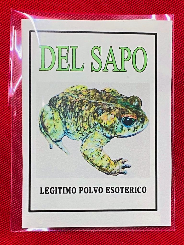 LEGITIMO POLVO ESOTERICO DEL SAPO