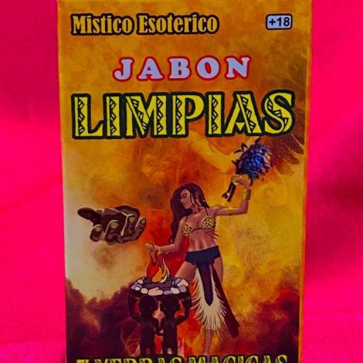 Jabon Esoterico Limpias 7 yerbas magicas 80 gr.