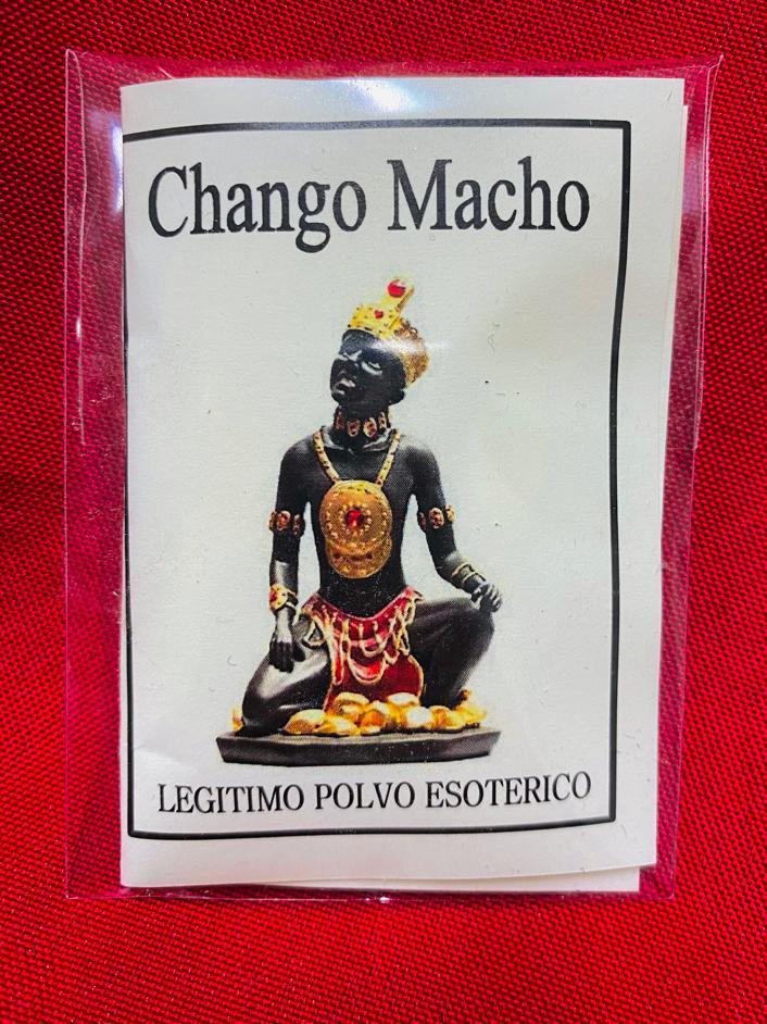 "LEGITIMO POLVO ESOTERICO ESPECIAL "" CHANGO MACHO """