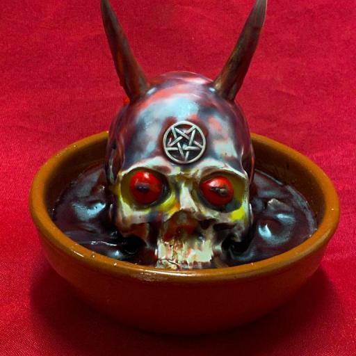 OFFERING FOR DEVIL ( BLACK MAGIC ) OFRENDA PARA DIABLOS ( MAGIA NEGRA )