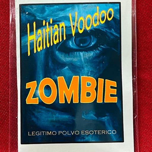 ☆ ZOMBIE HAITIAN VOODOO ☆ LEGITIMO POLVO ESOTERICO ESPECIAL !!!