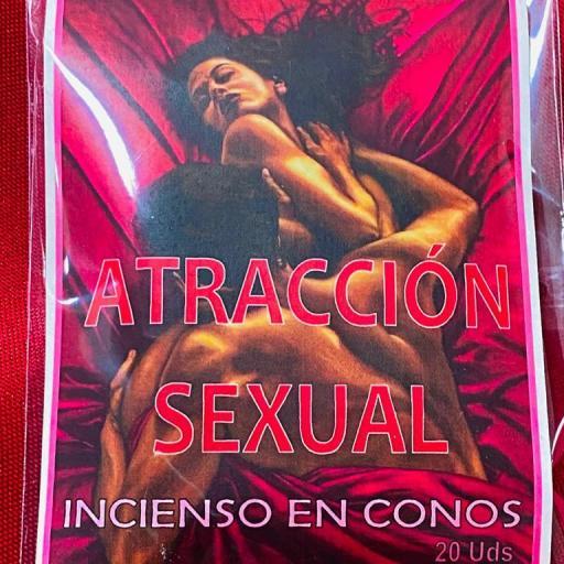 """INCIENSO ESOTERICO CONOS """" ATRACCION SEXUAL """""""