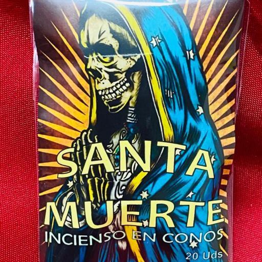 """INCIENSO ESOTERICO CONOS """" SANTA MUERTE """""""