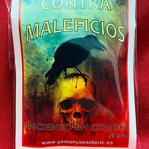 """INCIENSO ESOTERICO CONOS """" CONTRA MALEFICIOS """""""
