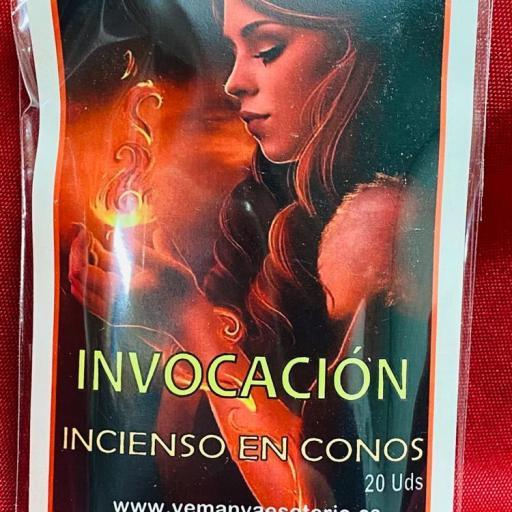 """INCIENSO ESOTERICO CONOS """" INVOCACION  """""""