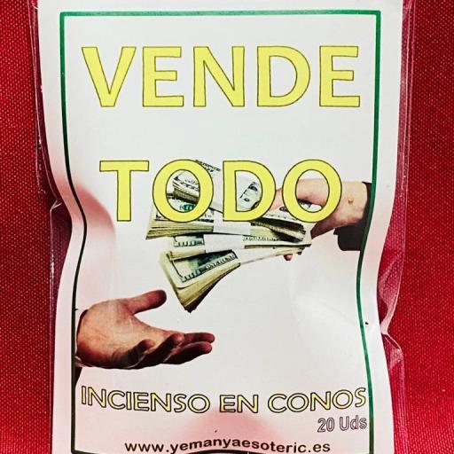 """INCIENSO ESOTERICO CONOS """" VENDE TODO """""""