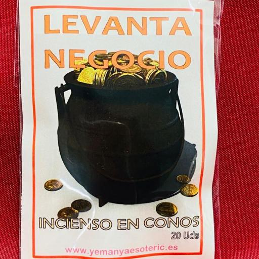 """INCIENSO ESOTERICO CONOS """" LEVANTA NEGOCIO """""""