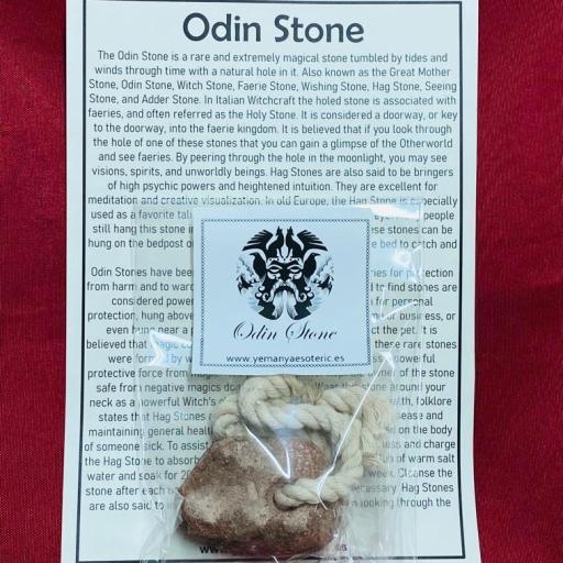 Amuleto Piedra de las Brujas ( Piedra de Odin) grande