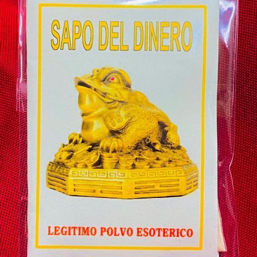LEGITIMO POLVO ESOTERICO SAPO DEL DINERO
