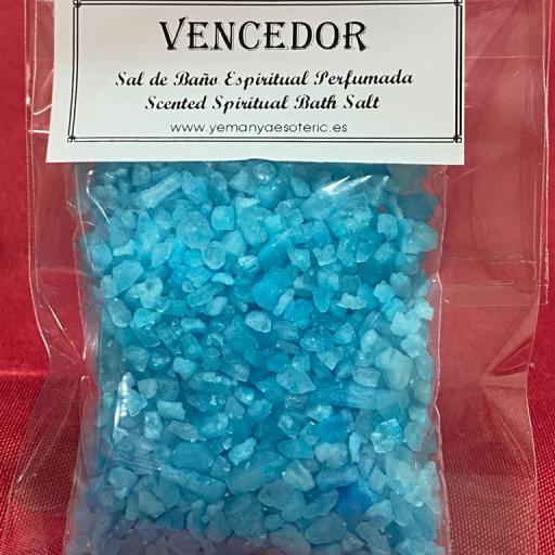 VENCEDOR -  SAL DE BAÑO ESPIRITUAL  50 gr.