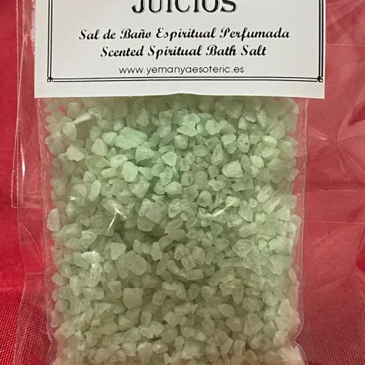 JUICIOS -  SAL DE BAÑO ESPIRITUAL  50 gr.