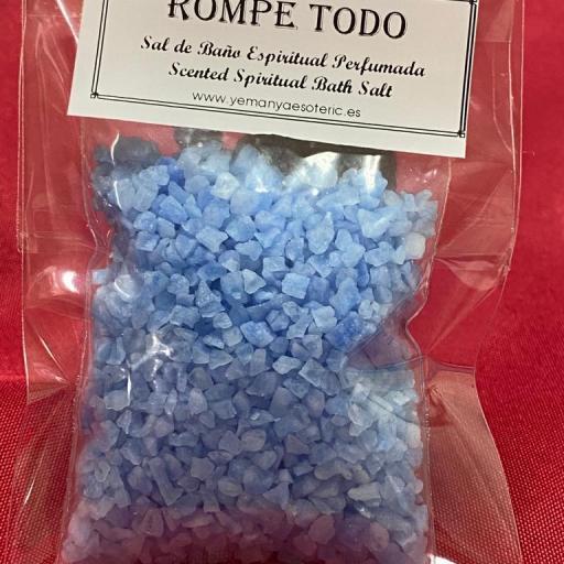 ROMPE TODO -  SAL DE BAÑO ESPIRITUAL  50 gr.