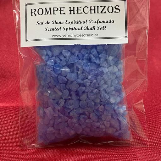 ROMPE HECHIZOS -  SAL DE BAÑO ESPIRITUAL  50 gr.