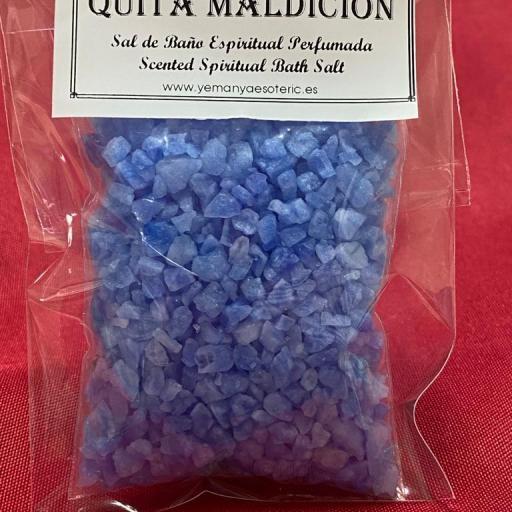 QUITA MALDICION -  SAL DE BAÑO ESPIRITUAL  50 gr.
