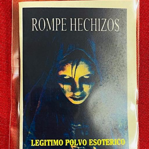 LEGITIMO POLVO ESOTERICO ROMPE HECHIZOS