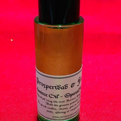 ACEITE ESOTERICO PROSPERIDAD Y FORTUNA 50 ml