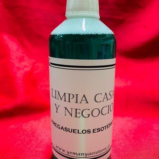 FREGASUELOS ESOTERICO LIMPIA CASA Y NEGOCIOS  500 ml