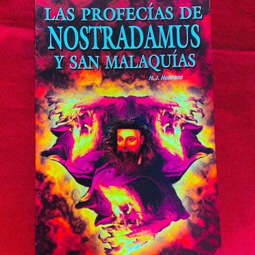 LIBRO LAS PROFECIAS DE NOSTRADAMUS Y SAN MALAQUIAS