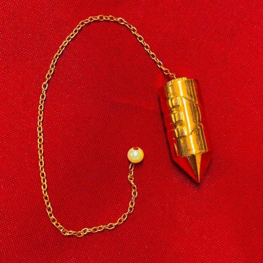 PENDULO COBRE ATLANTE DESENROSCABLE 3.7 cm X1.7 cm