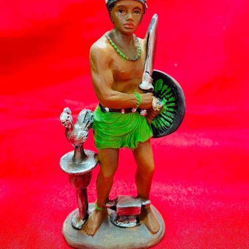Imagen Figura de Oggun 14 cm ( HECHA A MANO )  SANTERIA YORUBA IFA