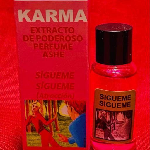 PERFUME ASHE SIGUEME SIGUEME  (Atracción)