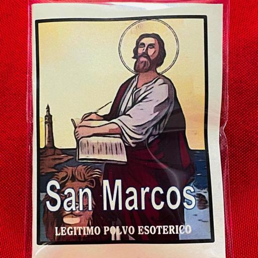 LEGITIMO POLVO ESOTERICO SAN MARCOS