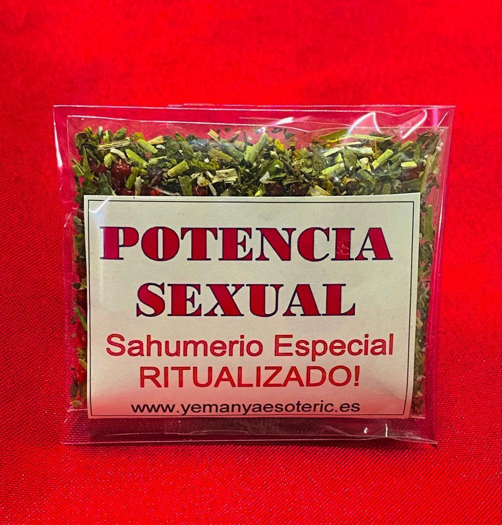 SAHUMERIO ESPECIAL RITUALIZADO  POTENCIA SEXUAL.