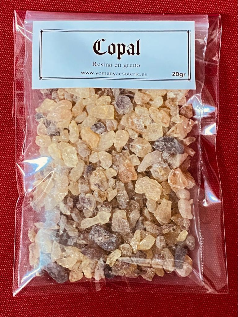 RESINA COPAL 20 gramos