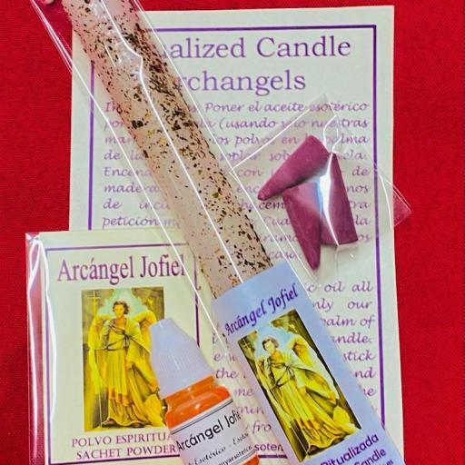 Vela Ritualizada Arcangel Jofiel
