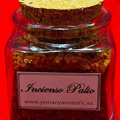 Incienso Palio Tarro cristal - 50 gramos aprox.