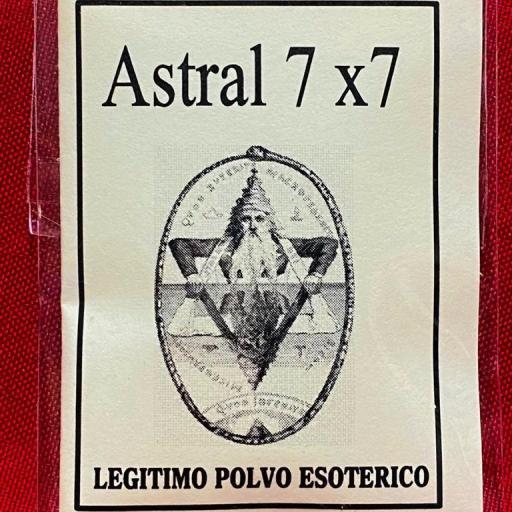 """LEGITIMO POLVO ESOTERICO ESPECIAL """"ASTRAL 7 X 7 """""""